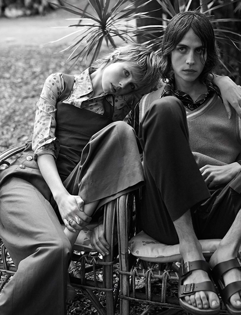 Photo Edie Campbell by Josh Olins for Vogue UK March 2015