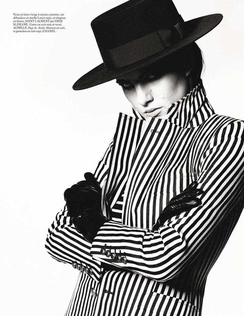 Photo Eliza Cummings by Mert & Marcus for Vogue Paris March 2015