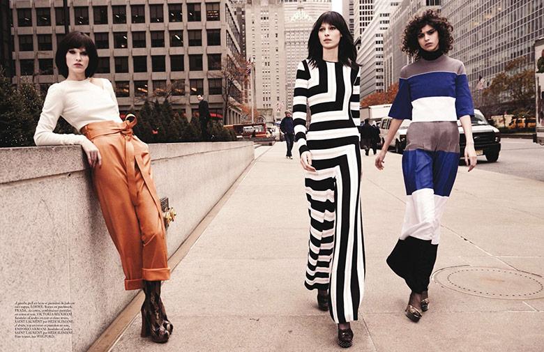 Photo 'Uptown Girls' by Glen Luchford for Vogue Paris March 2015