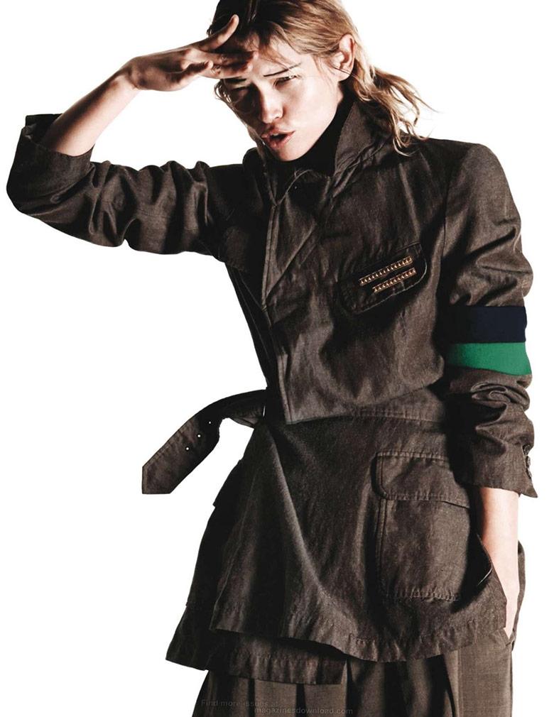 Photo Hana Jirickova & Karolin Wolter for Vogue Paris March 2015