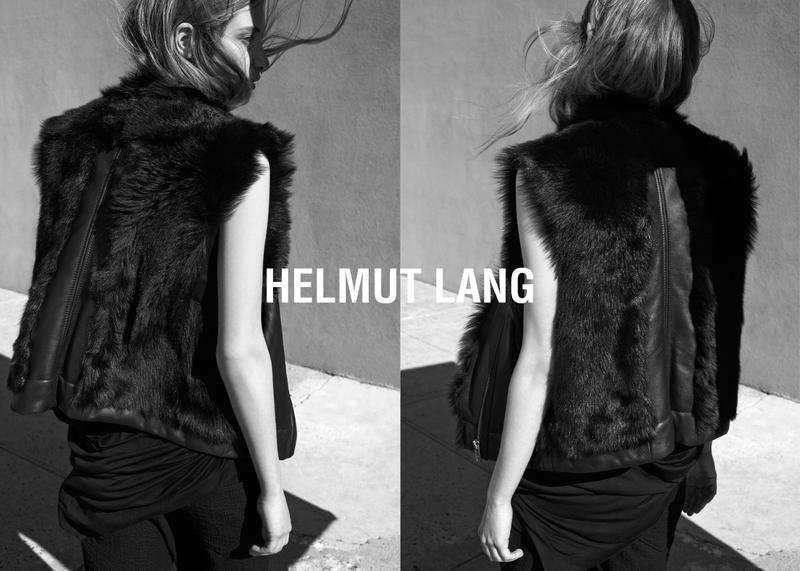 Photo Helmut Lang Spring/Summer 2015 Campaign