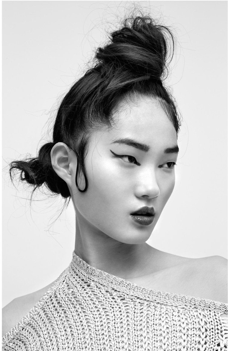 Photo Hyun Ji Shin by Hannah Scott Stevenson for i D Australia