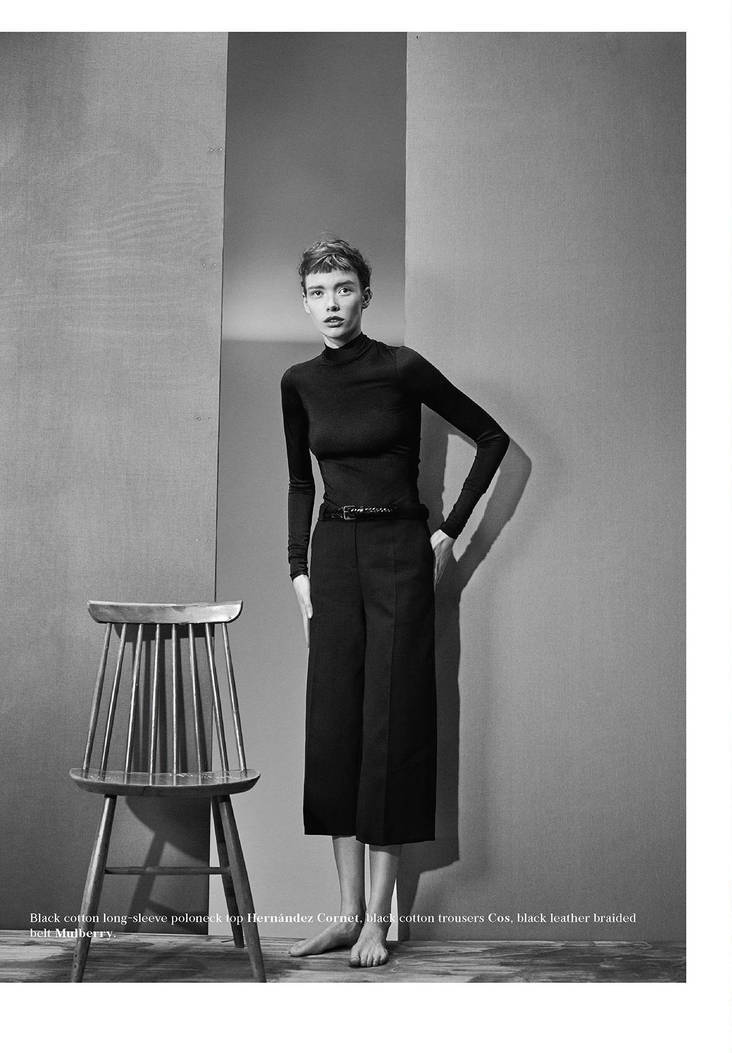 Photo Julia Hafstrom by Boe Marion for Bon S/S 2015