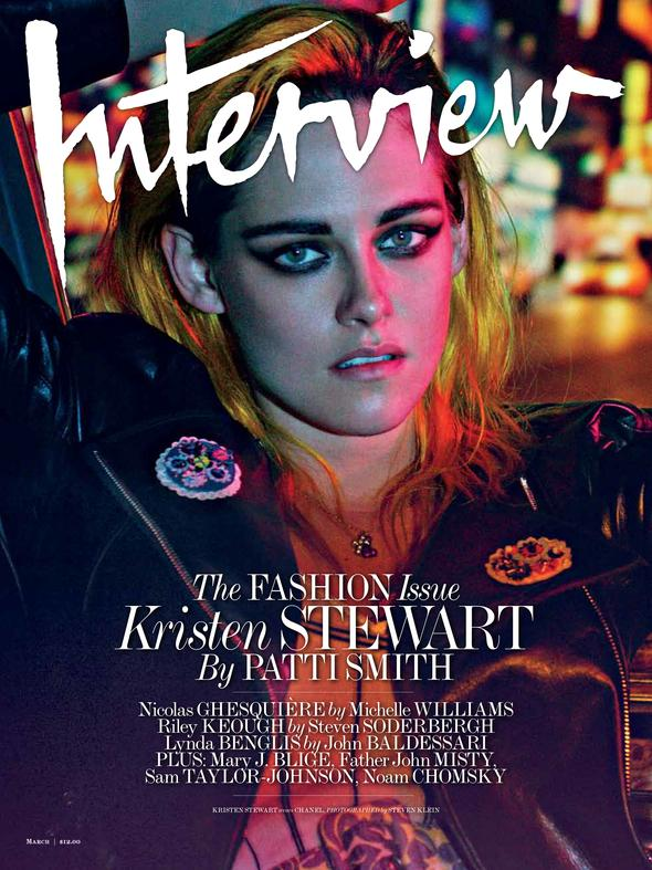 Photo Kristen Stewart by Steven Klein for Interview March 2015
