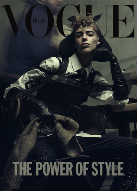 Photo Lexi Boling by Steven Meisel for Vogue Italia February 2015