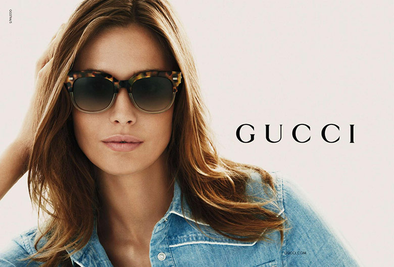 Photo Nadja Bender for Gucci Eyewear S/S 2015