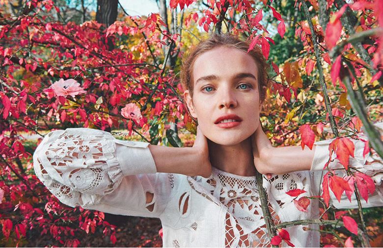 Photo Natalia Vodianova by Ryan McGinley for Porter Spring 2015