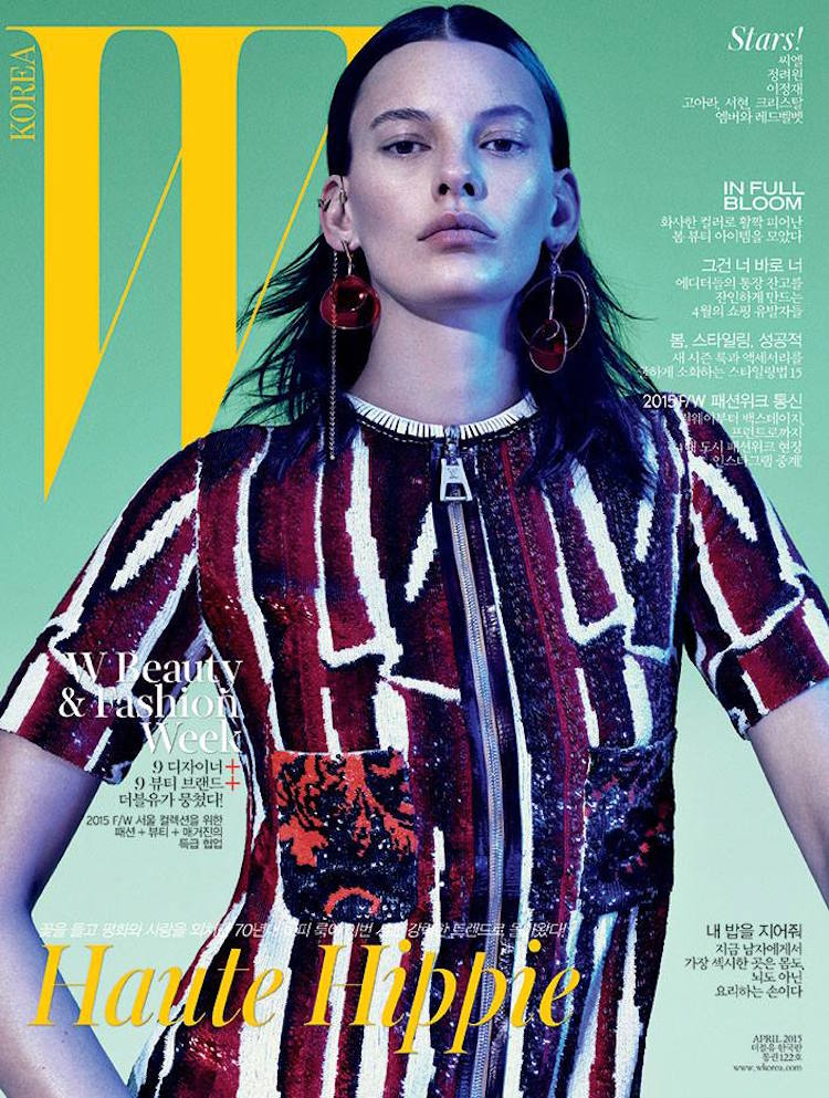 Photo Amanda Murphy for W Magazine Korea April 2015 Cover