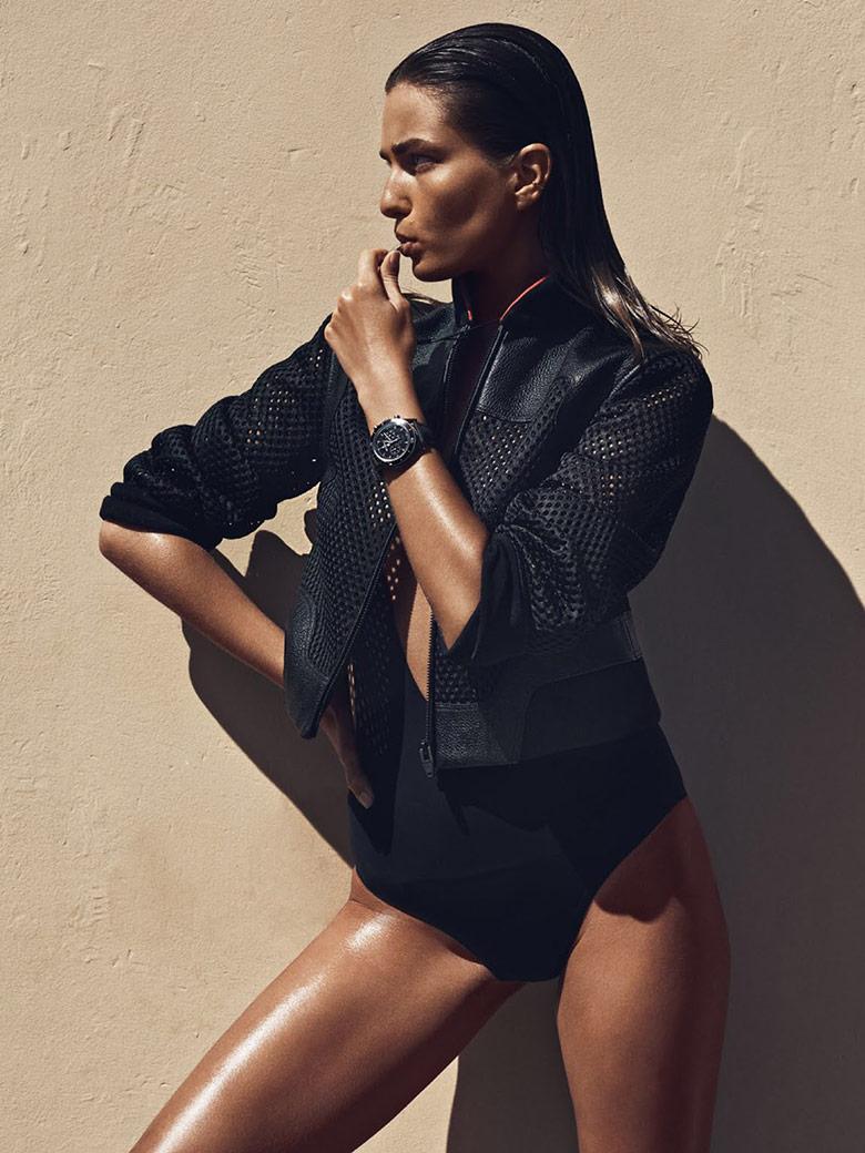 Photo Andreea Diaconu by Lachlan Bailey for Vogue Paris April 2015