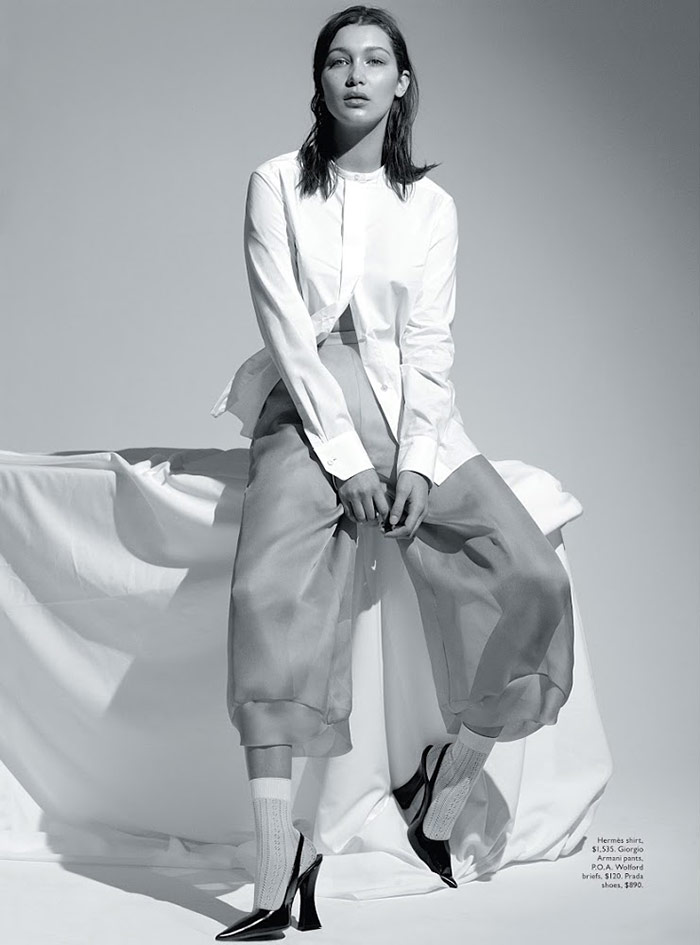 Photo Bella Hadid for Vogue Australia April 2015