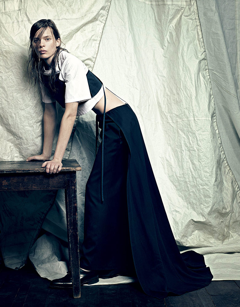 Photo Elise Crombez for Vogue Japan May 2015