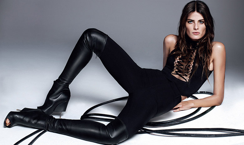 Photo Isabeli Fontana by Alique for Harper's Bazaar Spain April 2015