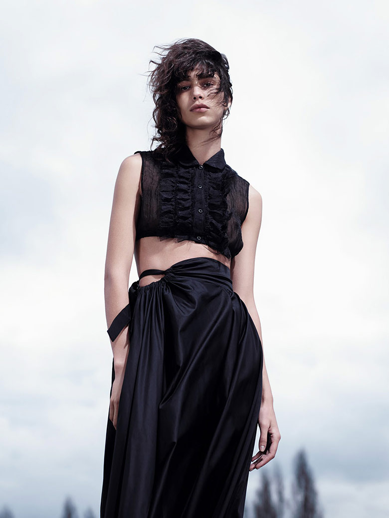 Photo Mica Arganaraz by Willy Vanderperre for Vogue China April 2015