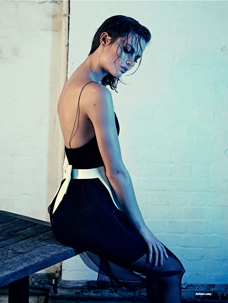 Photo Moa Aberg for Elle UK April 2015
