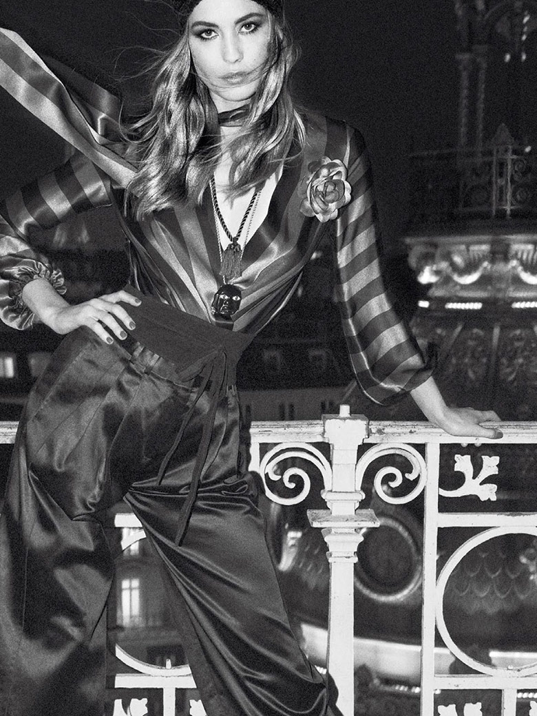 Photo Nadja Bender by Giampaolo Sgura for Vogue Paris April 2015