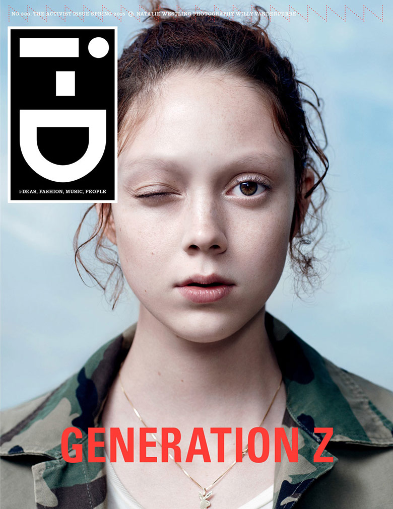Photo Natalie Westling for i D Magazine Spring 2015