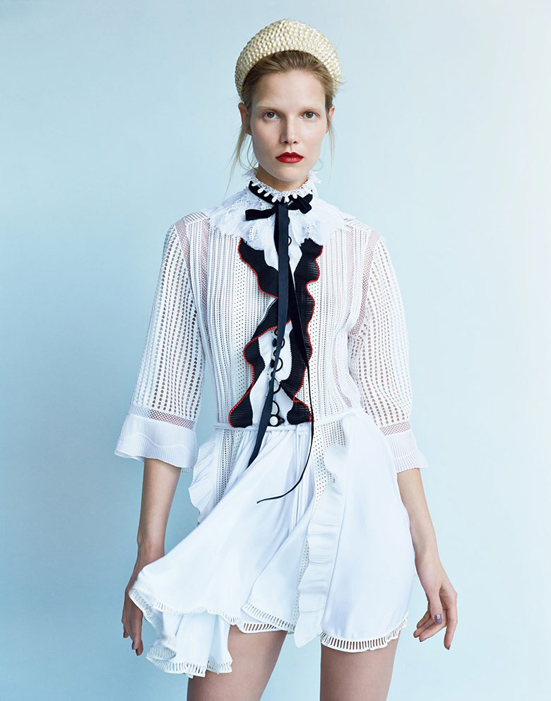 Photo Suvi Koponen by Patrick Demarchelier for Vogue China April 2015