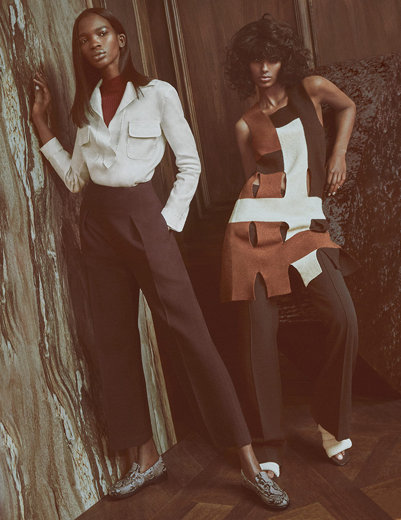 Photo Aamito Lagum & Senait Gidey for W Magazine May 2015