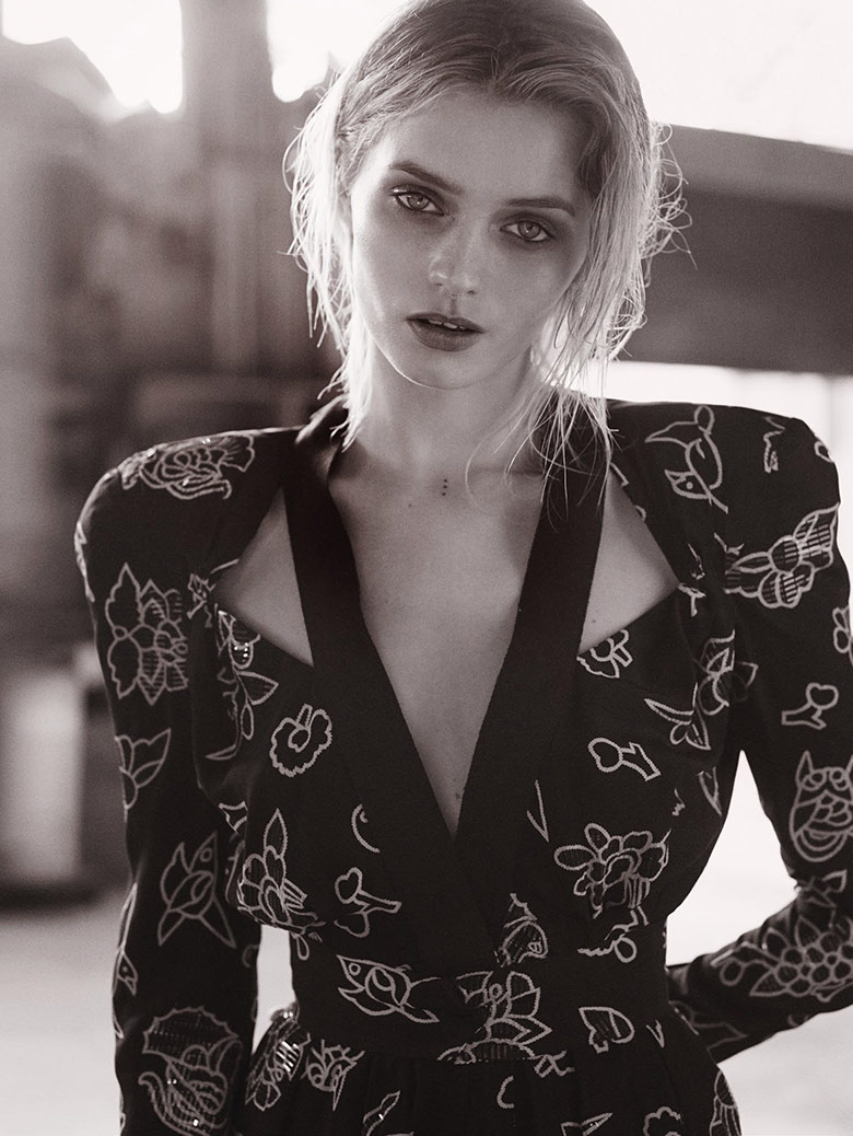 Photo Abbey Lee Kershaw for Vogue Australia May 2015