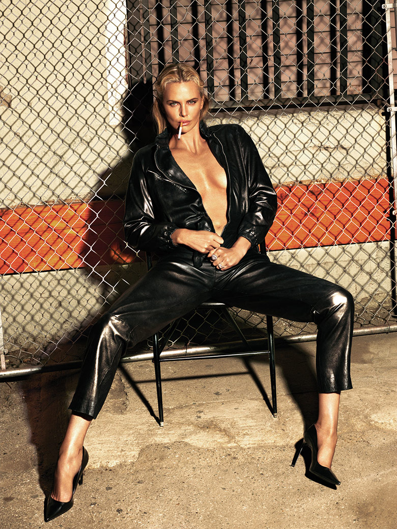 Photo Charlize Theron by Mert & Marcus for W Magazine May 2015