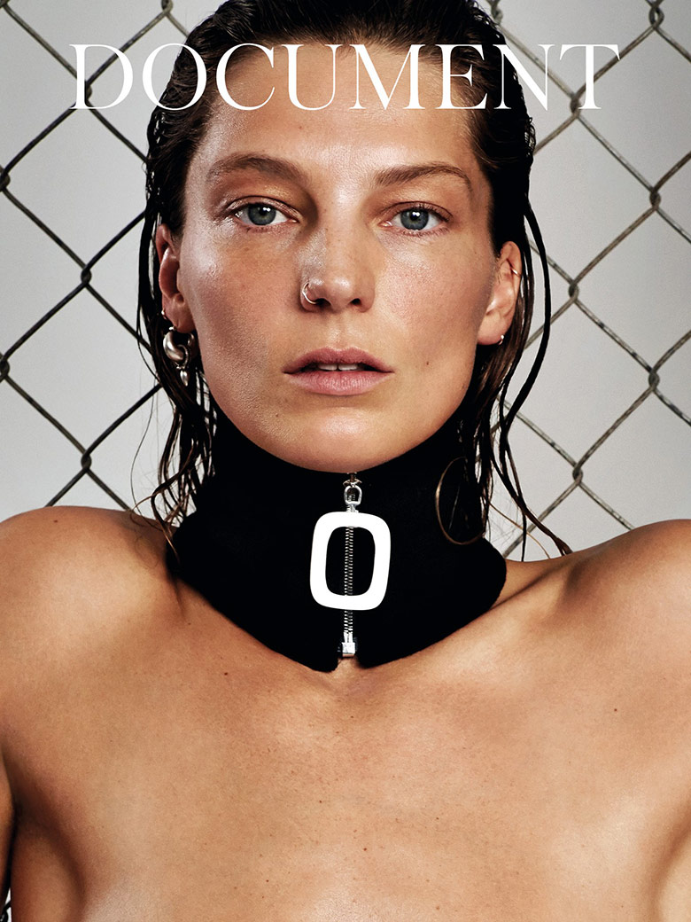 Photo Daria Werbowy for Document Journal S/S 2015