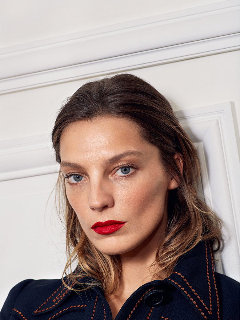 Photo Daria Werbowy for Vogue Paris May 2015