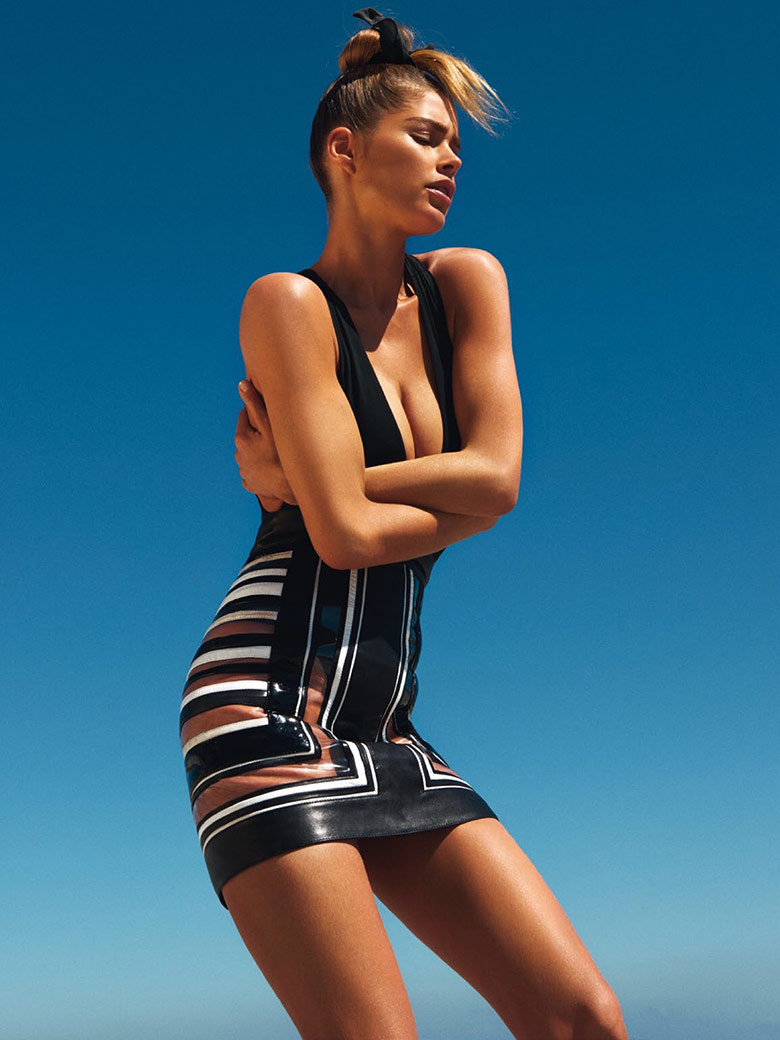 Photo Doutzen Kroes for Vogue Paris May 2015