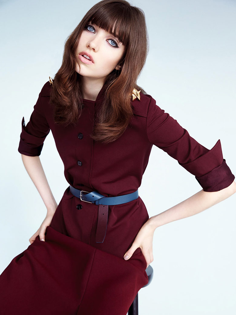 Photo Grace Hartzel by Patrick Demarchelier for Vogue China May 2015