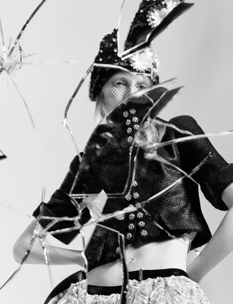 Photo Julia Nobis for Interview Magazine April 2015