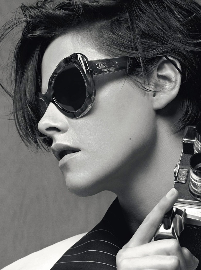 Photo Kristen Stewart by Karl Lagerfeld for Chanel Eyewear Spring 2015