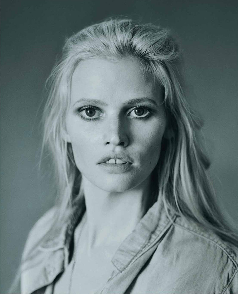 Photo Lara Stone by Elina Kechicheva for Marie Claire France May 2015