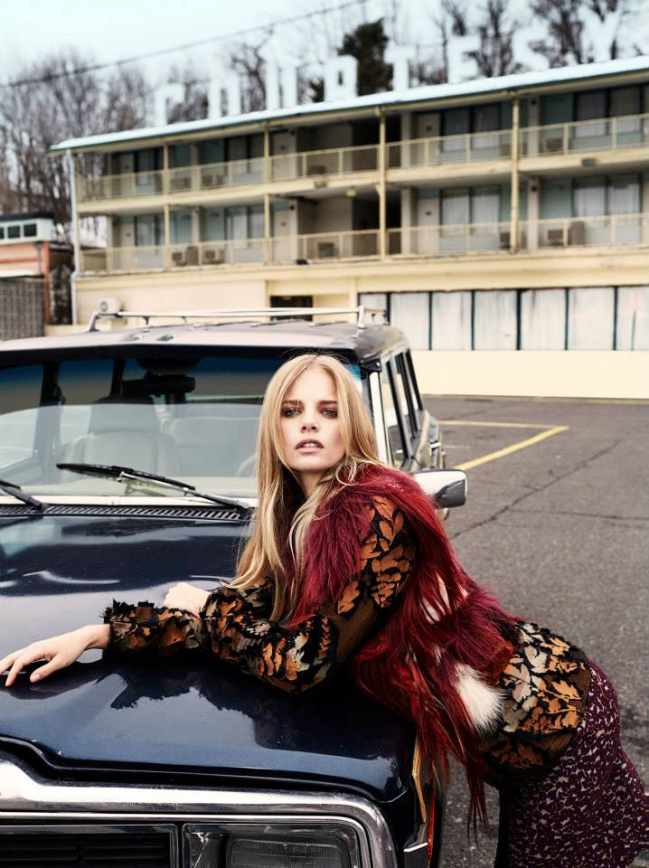 Photo Marloes Horst for Harper's Bazaar China May 2015