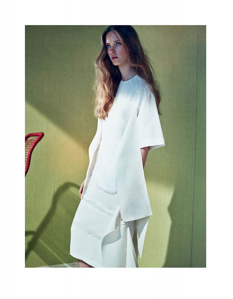 Photo Mildred Gustafsson by Boe Marion for Elle Sweden May 2015