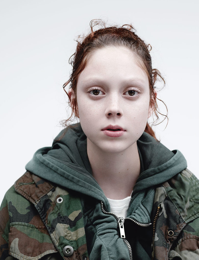 Photo Natalie Westling by Willy Vanderperre for i D Magazine Spring 2015