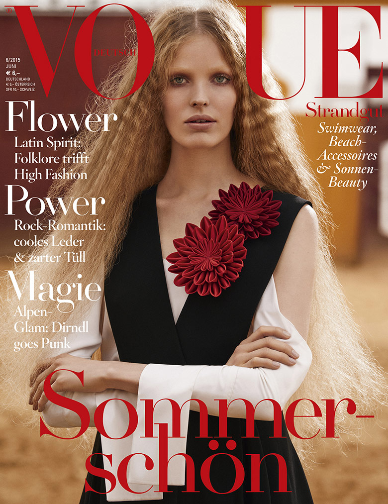 Photo Alisa Ahmann for Vogue Germany June 2015