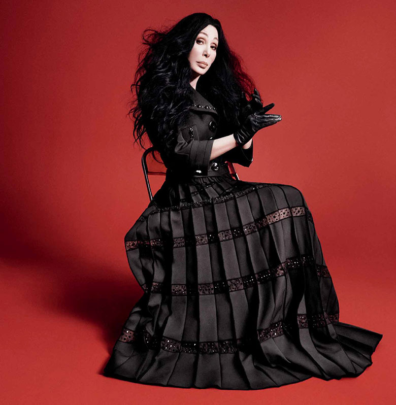 Photo Cher for Marc Jacobs Fall/Winter 2015 2016 Campaign