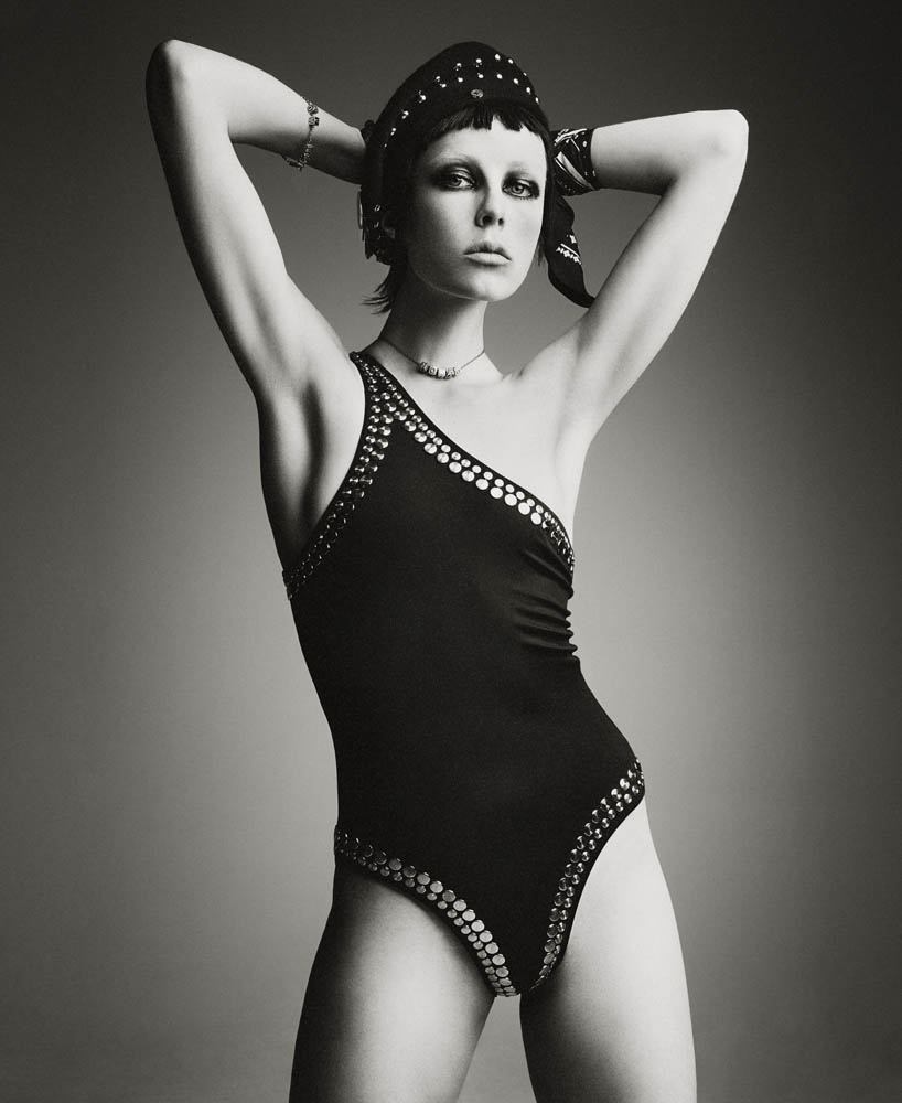 Photo Edie Campbell by Patrick Demarchelier for Interview May 2015