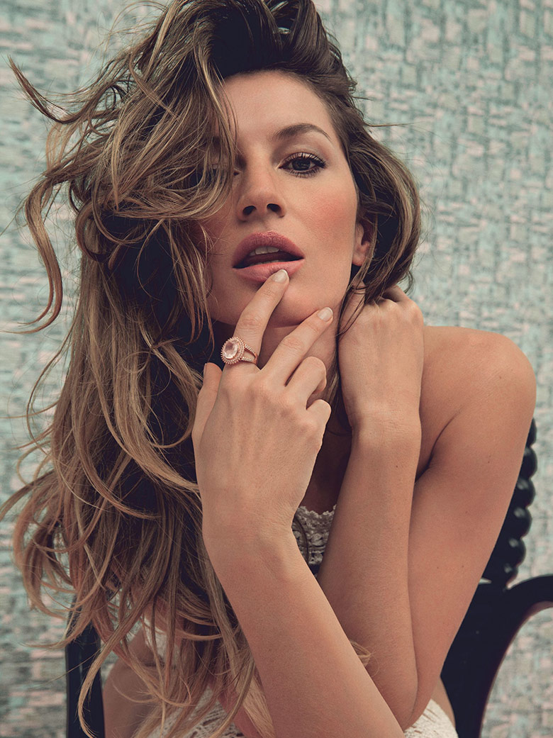 Photo Gisele Bundchen for Vogue Brazil May 2015