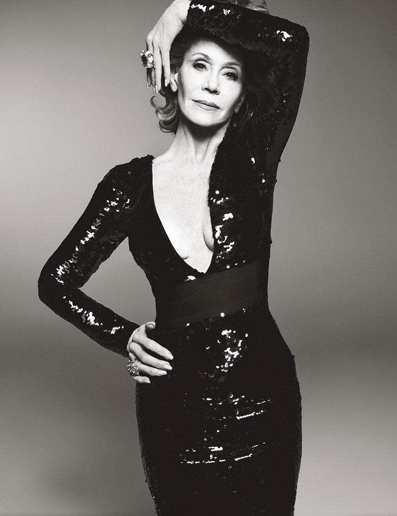 Photo Jane Fonda by Steven Meisel for W Magazine June/July 2015