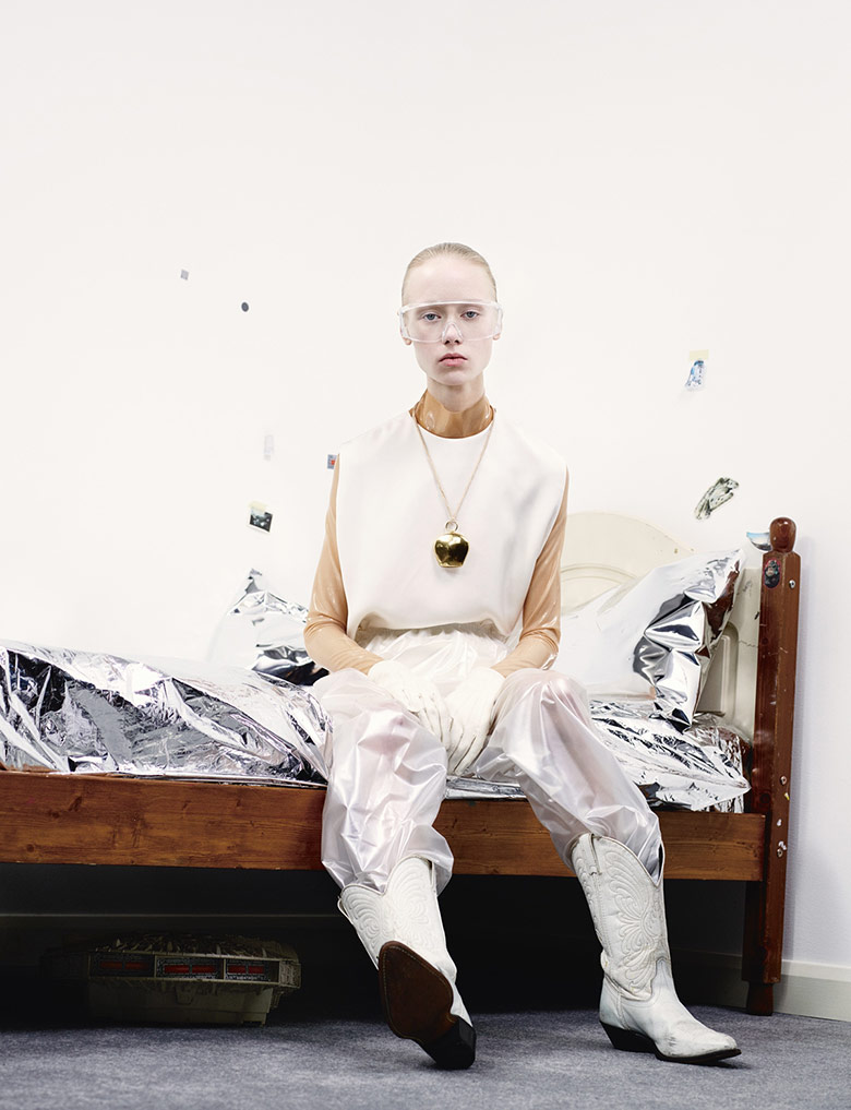 Photo Maria Veranen by Willy Vanderperre for i D Spring 2015