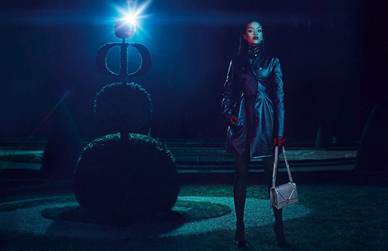 Photo Rihanna by Steven Klein for Dior Secret Garden 2015