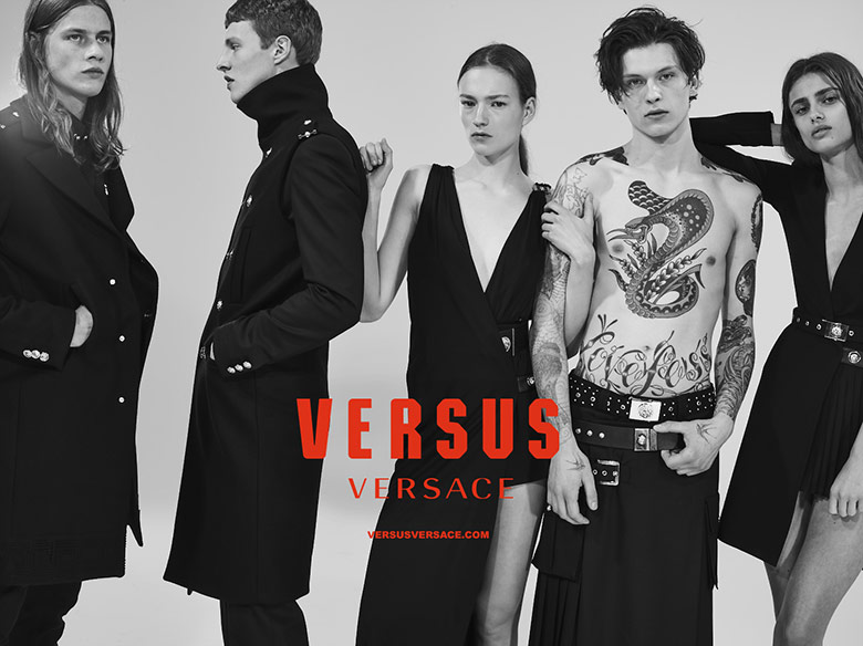 Photo Versus Versace F/W 15/16 campaign