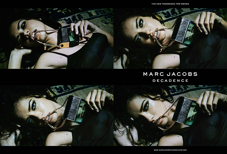 Photo Adriana Lima by Steven Meisel for Marc Jacobs Decadence 2015
