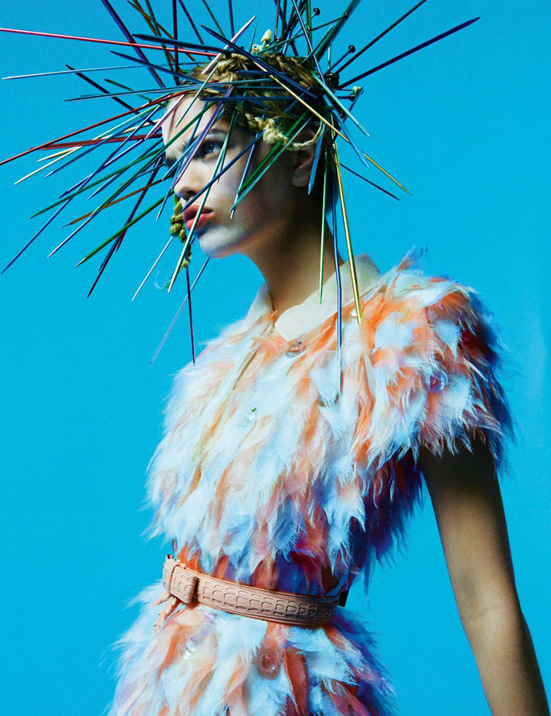 Photo Daphne Groeneveld by Greg Kadel for Numero June July 2015