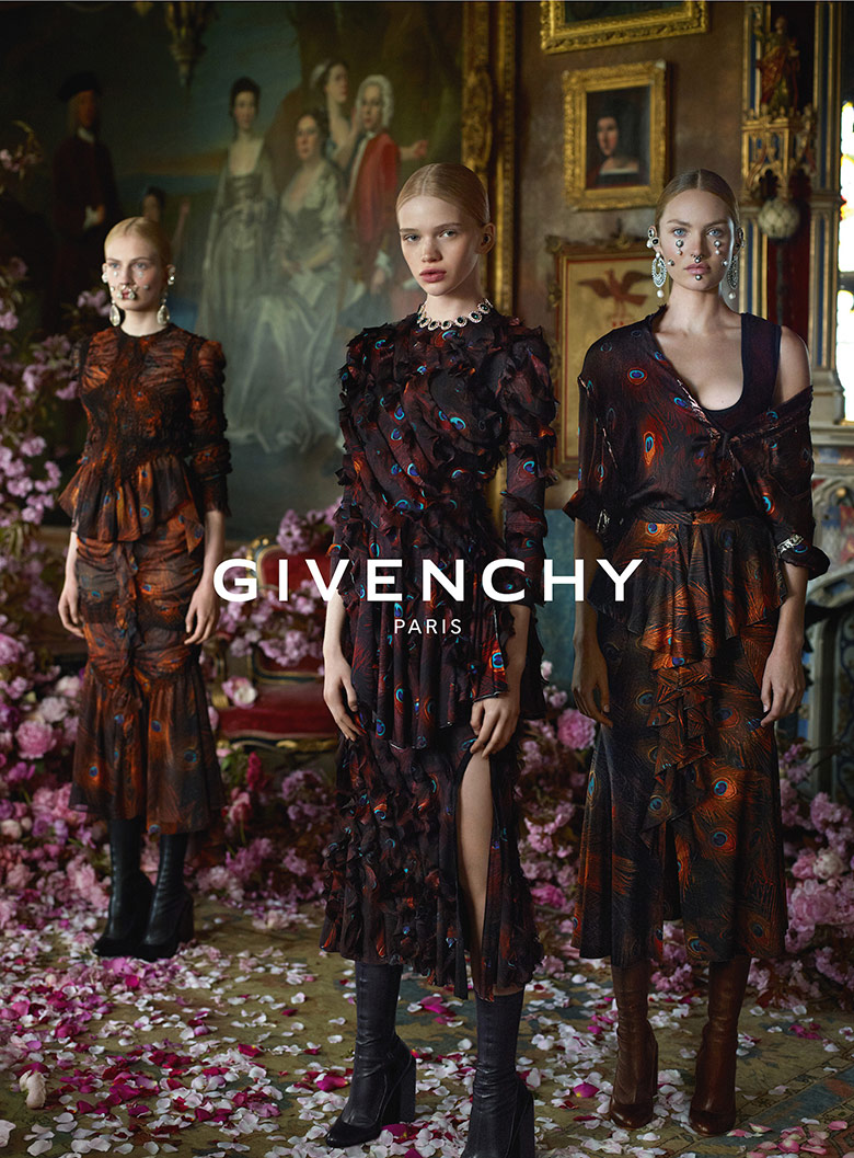 Photo Givenchy F/W 15/16 Campaign by Mert & Marcus