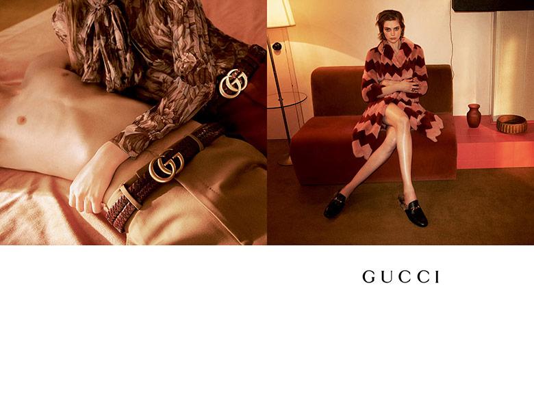 Photo Gucci F/W 15/16 Campaign by Glen Luchford