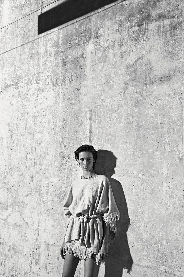 Photo Julia Bergshoeff by Lachlan Bailey for Industrie Magazine S/S 2015