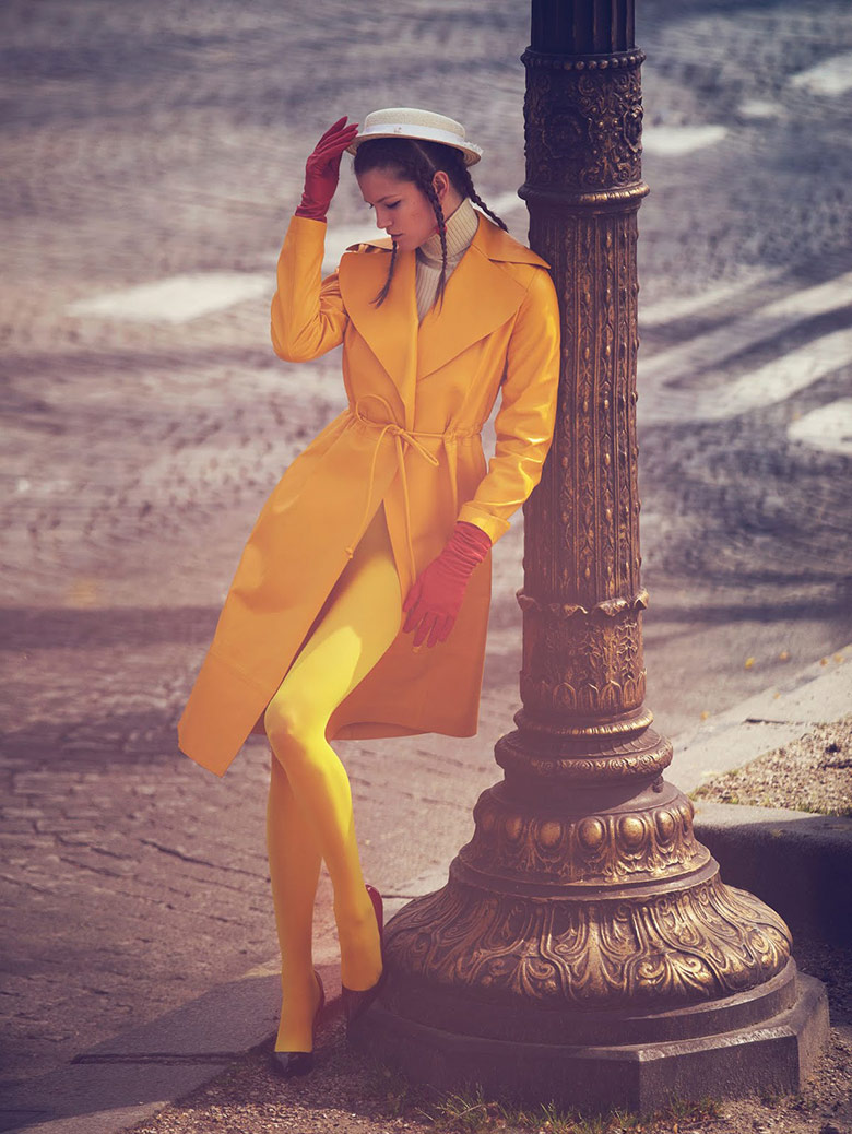 Photo Kasia Struss by David Bellemere for Vogue China June 2015