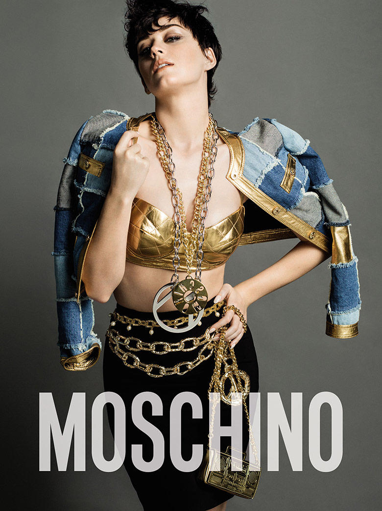Photo Katy Perry for Moschino Fall/Winter 15/16