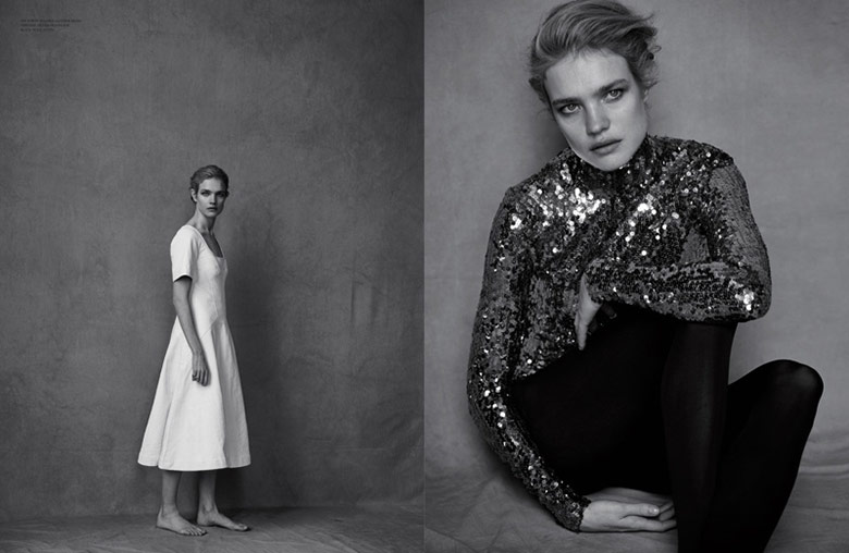 Photo Natalia Vodianova by Peter Lindbergh for Dior Magazine 10